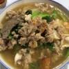 洪茶馆猪肉粉海鲜粉(Restaurant Hong Cha)具だくさんでスープにコクがあるポークヌードル!