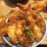 日本橋で950円と思えない絶品天丼「天丼 金子半之助」巨大なアナゴに満足です!