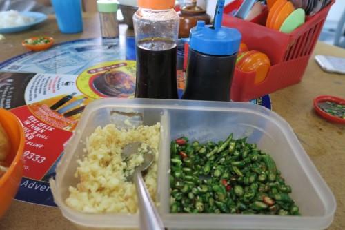 garlic Sei Ngan Chai Bak Kut Teh