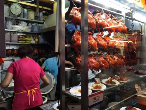 香港油鶏飯麺の小さなキッチン
