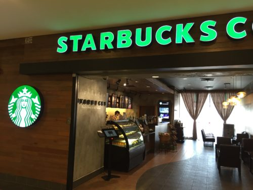 Starbucks Bangsar Village IIの入口周辺