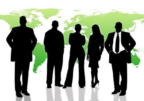 グローバルなビジネスマン