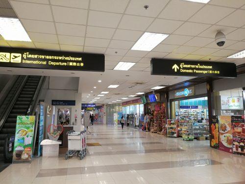 チェンマイ空港到着ロビーでSIM購入_3