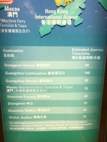 香港国際空港からマカオ・深圳へフェリーで行く方法_6